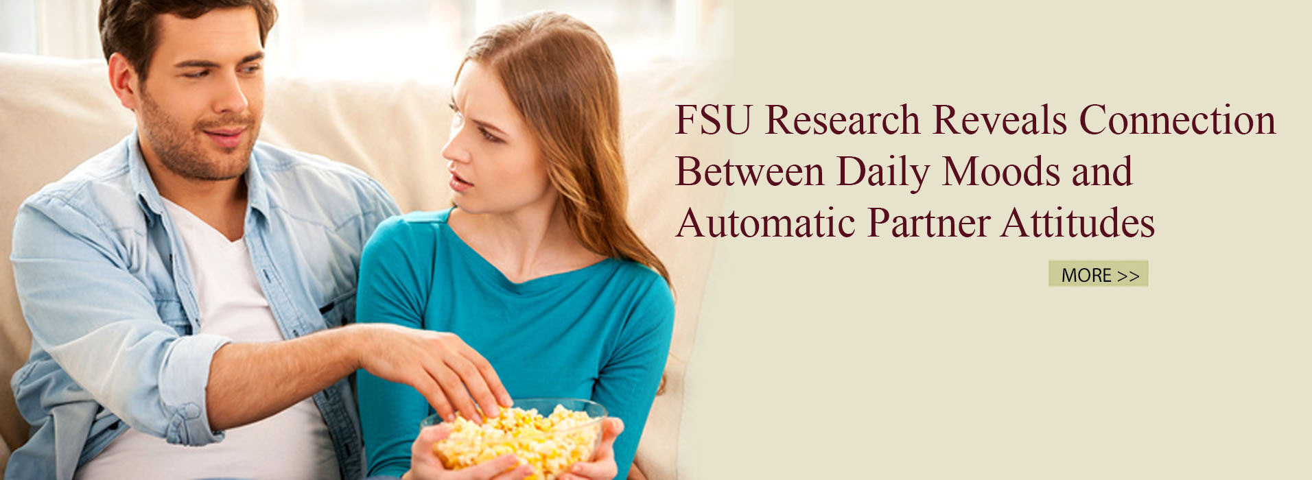 FSU Research Reveals Connection between Daily Moods and Automatic Partner Attitudes
