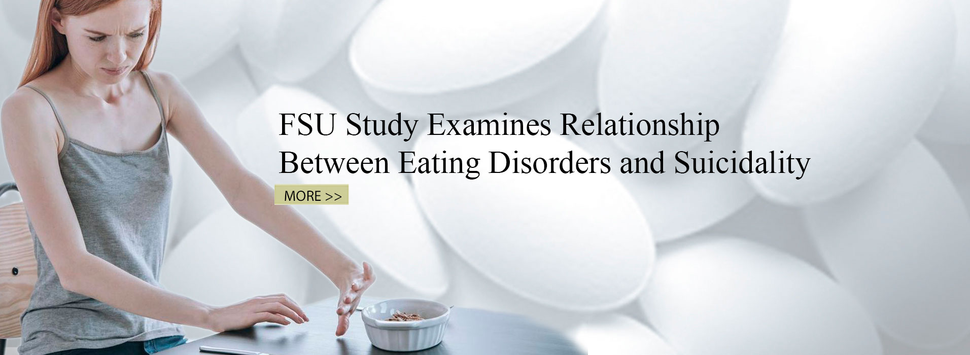 FSU Study Examines Relationship Between Eating Disorders and Suicidality
