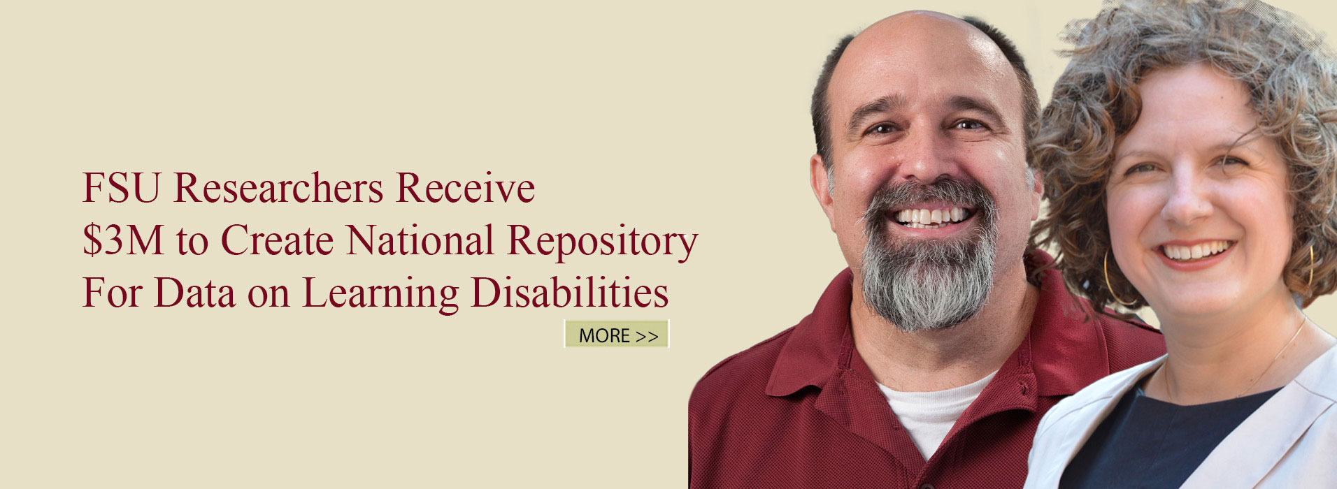 FSU Researchers Receive $3M to Create National Repository For Data on Learning Disabilities