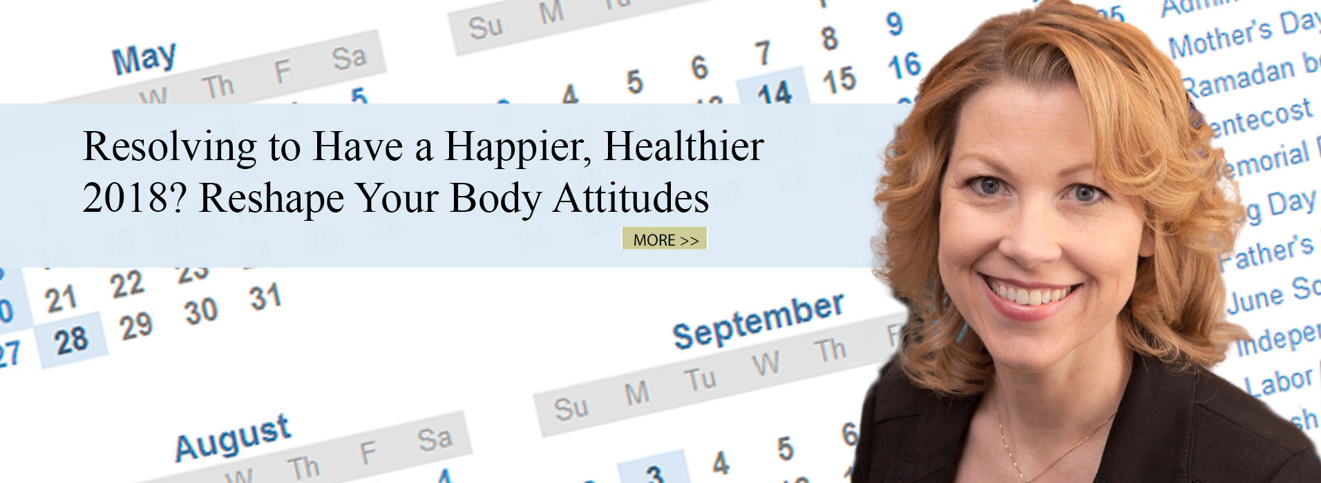 Resolving to Have a Happier, Healthier 2018? Reshape Your Body Attitudes