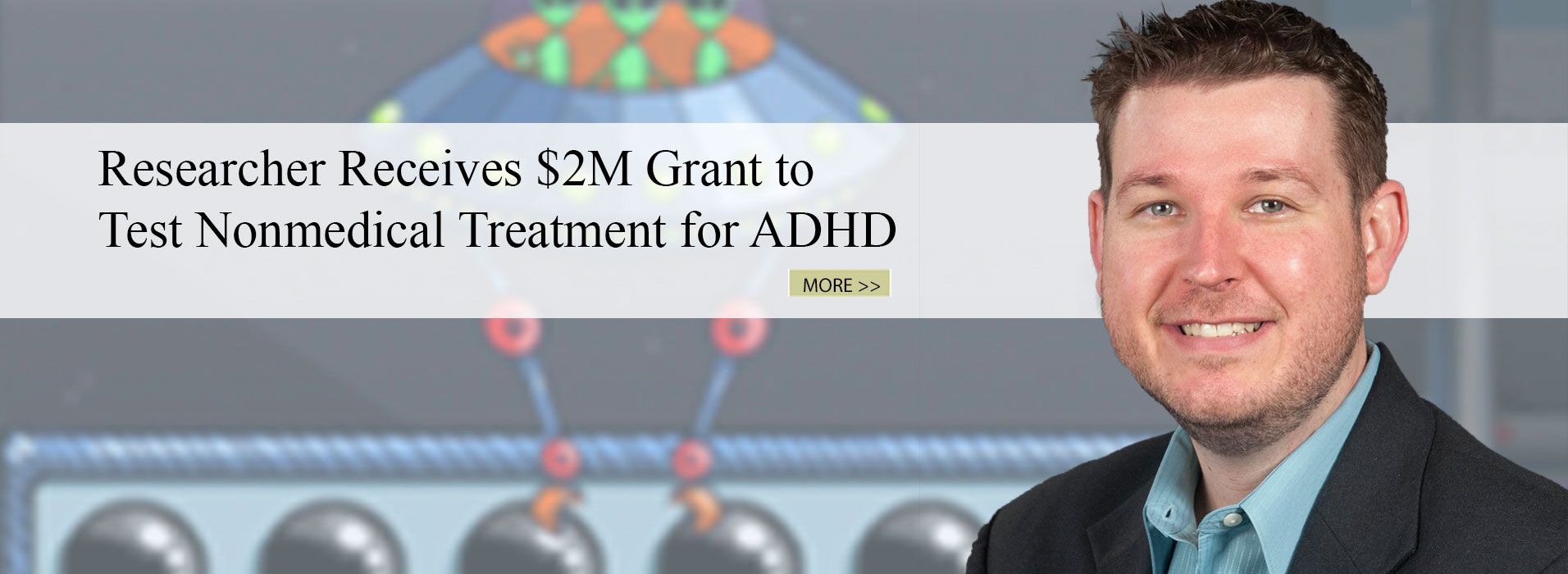 Researcher Receives $2M Grant to Test Nonmedical Treatment for ADHD
