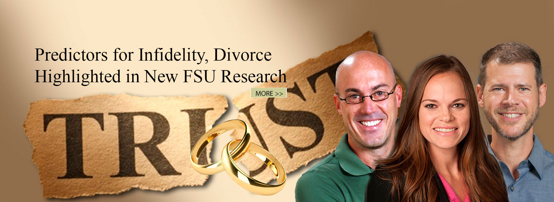 Predictors for Infidelity, Divorce Highlighted in New FSU Research