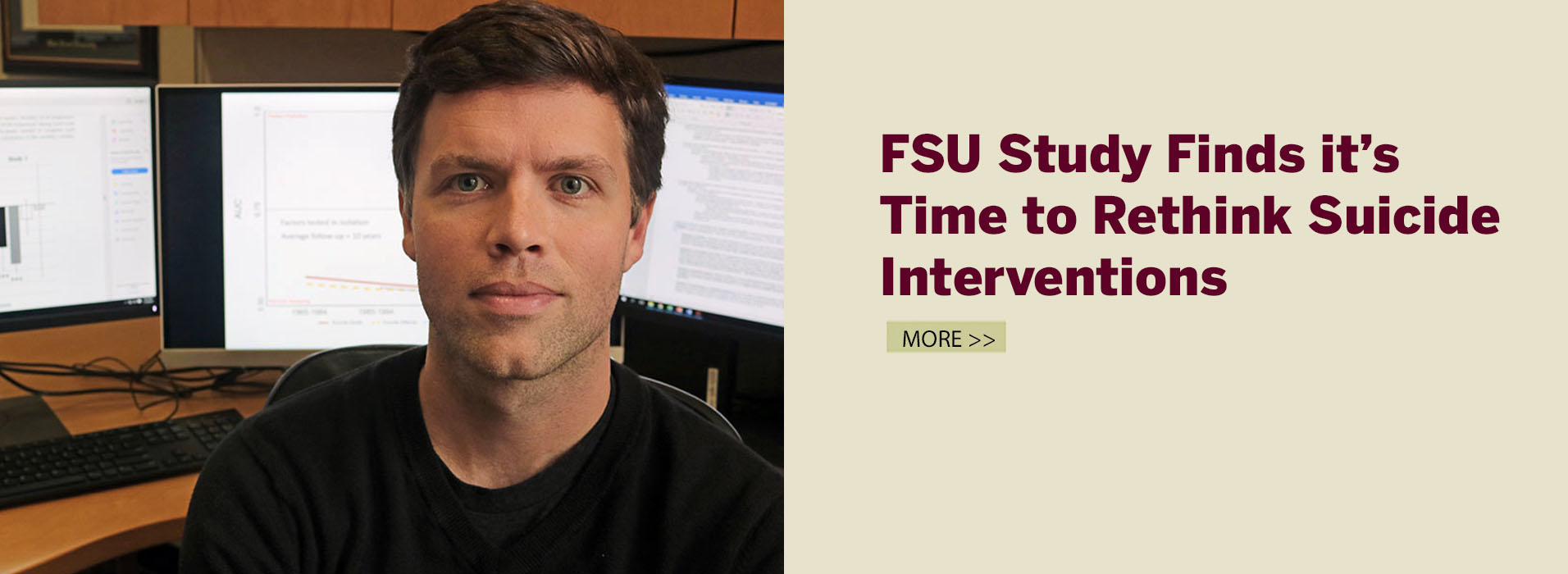 FSU Study Finds it's Time to Rethink Suicide Interventions