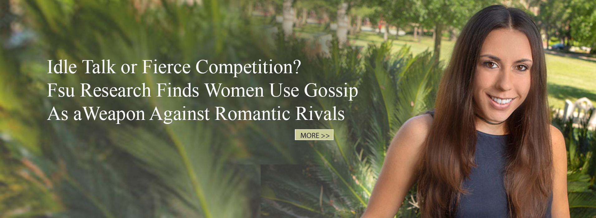 Idle Talk or Fierce Competition? FSU Research Finds Women Use Gossip as a Weapon Against Romantic Rivals