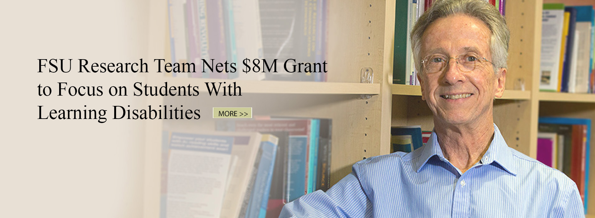 FSU Research Team Nets $8M grant to Focus on Students With Learning Disabilities
