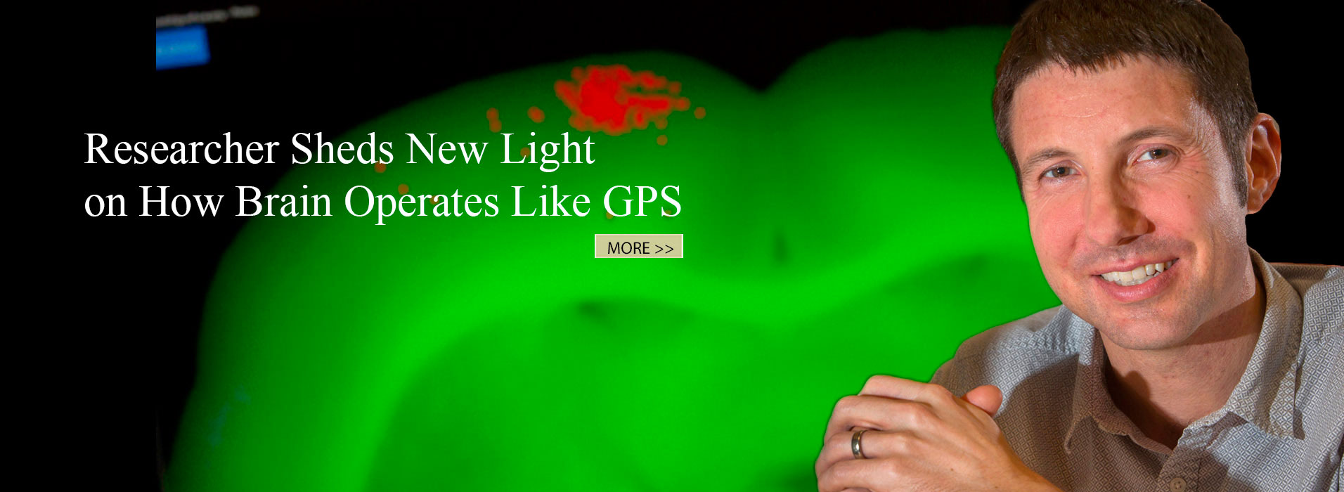 Researcher Sheds New Light on How Brain Operates Like GPS